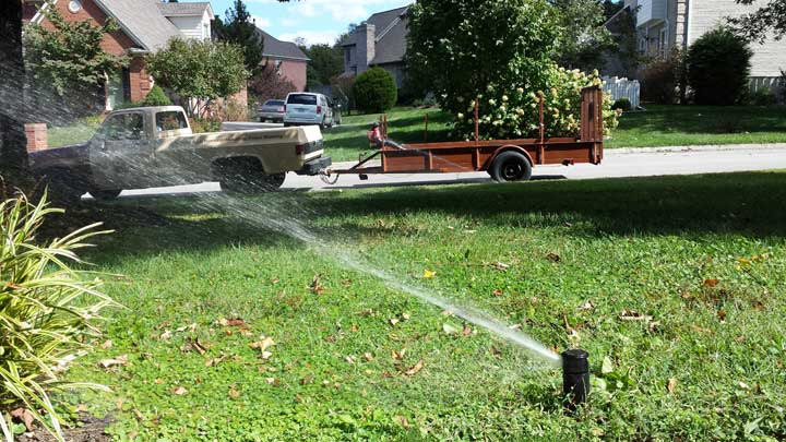 Knoxville Lawn Sprinkler Winterization Services   Lawn Sprinkler
